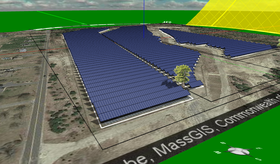 solar power station design and analysis