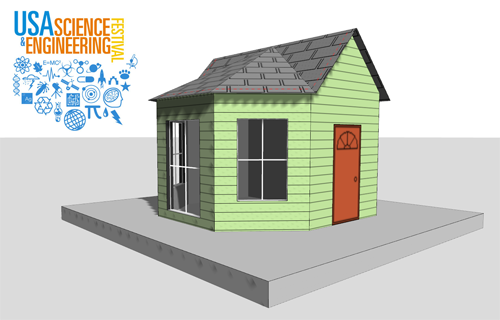 Build energy efficient model house
